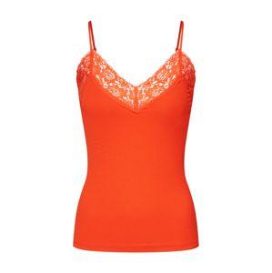 SELECTED FEMME Top 'MIO'  oranžově červená