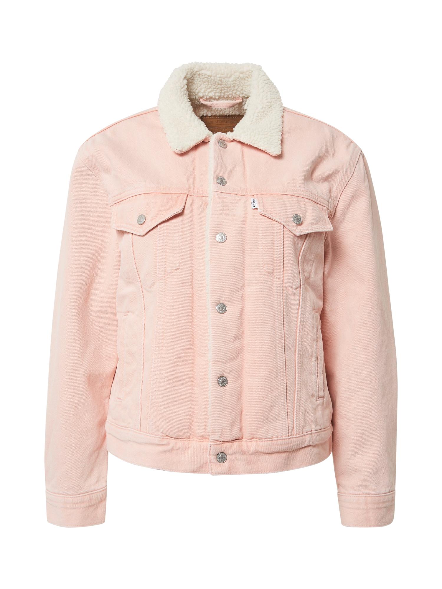 LEVI'S Přechodná bunda  růžová / béžová