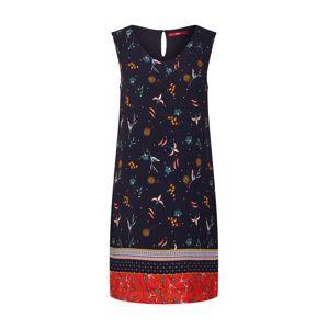 S.Oliver Letní šaty  námořnická modř / červená