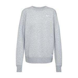 Nike Sportswear Mikina 'W NSW ESSNTL CREW FLC TREND'  šedá