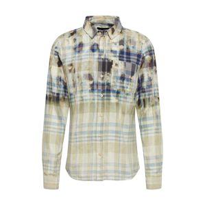 tigha Košile 'Eiki'  modrá / šedá