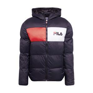 FILA Zimní bunda 'FLOYD'  červená / černá / bílá