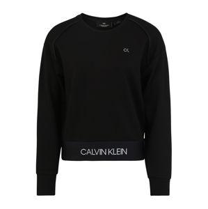 Calvin Klein Performance Sportovní mikina  černá