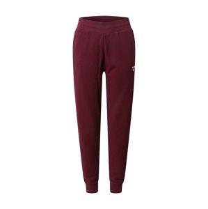 Reebok Classic Kalhoty 'CL FRENCH T'  vínově červená