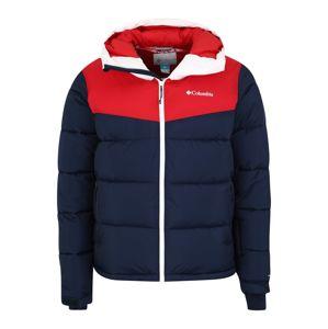 COLUMBIA Sportovní bunda 'Iceline Ridge'  námořnická modř / červená / bílá
