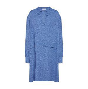 Calvin Klein Košilové šaty 'PRT VISCOSE PIONEER DRESS LS'  modrá