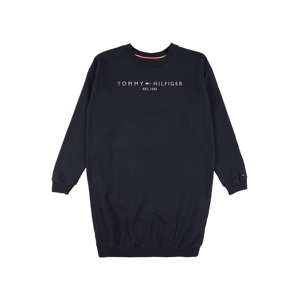 TOMMY HILFIGER Šaty  noční modrá / bílá / červená