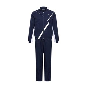 Lacoste Sport Sportovní bunda 'TAFFETAS DIAMANTE'  bílá / marine modrá