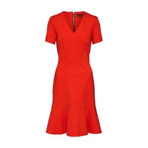 SET Koktejlové šaty  červená
