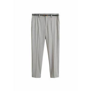 MANGO Kalhoty s puky 'Boreal5'  šedá