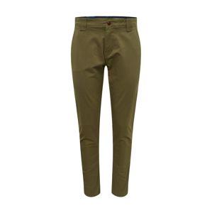 Tommy Jeans Chino kalhoty  olivová