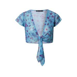 Motel Tričko 'Blaza'  fialová / modrá