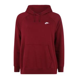 Nike Sportswear Mikina  vínově červená