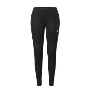 ADIDAS PERFORMANCE Sportovní kalhoty 'Tiro 19'  černá / bílá