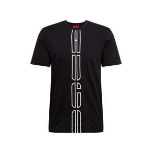 HUGO Tričko 'Darlon203'  černá