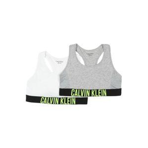 Calvin Klein Underwear Podprsenka  šedá / bílá