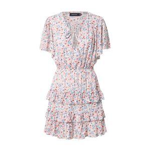 MINKPINK Letní šaty 'HEAT WAVE'  bílá / růže / námořnická modř