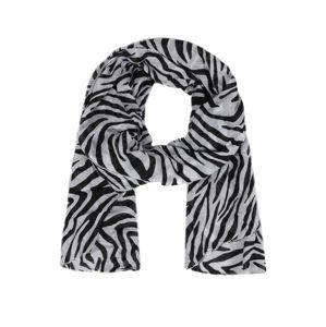 ABOUT YOU Šátek 'Emelie'  bílá / černá