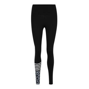 Hey Honey Sportovní kalhoty  modrá / černá / bílá