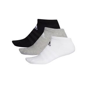 ADIDAS PERFORMANCE Sportovní ponožky  černá / bílá / šedá