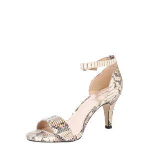 Bianco Páskové sandály 'Adore'  šedá / béžová