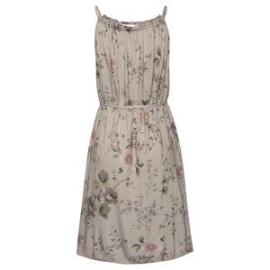 LASCANA Letní šaty  velbloudí / mix barev