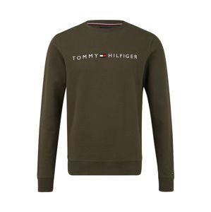 Tommy Hilfiger Underwear Mikina  bílá / olivová