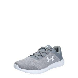 UNDER ARMOUR Sportovní boty 'UA Mojo'  světle šedá / bílá