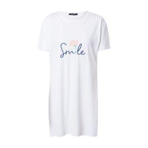 Trendyol Tričko  bílá / světlemodrá / světle růžová