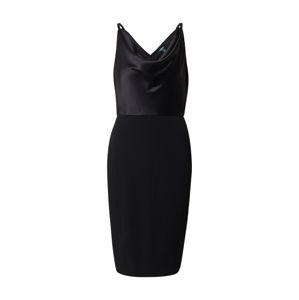 Lauren Ralph Lauren Koktejlové šaty 'ARANDA'  černá
