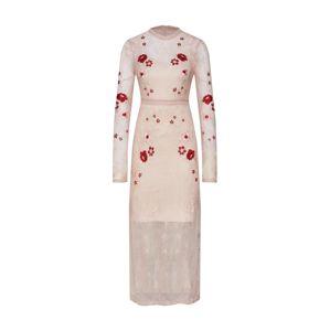 VILA Šaty  růžová