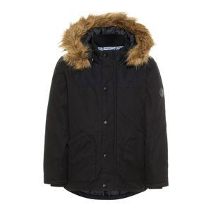 NAME IT Zimní bunda  černá