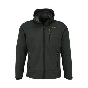 CMP Sportovní bunda 'Zip Hood'  tmavě zelená