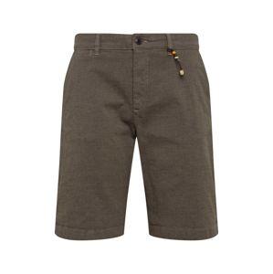 JACK & JONES Chino kalhoty 'Kenzo Akm 432'  tmavě šedá