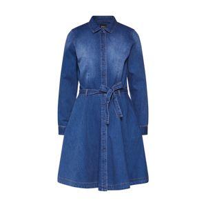 ONLY Košilové šaty  modrá džínovina