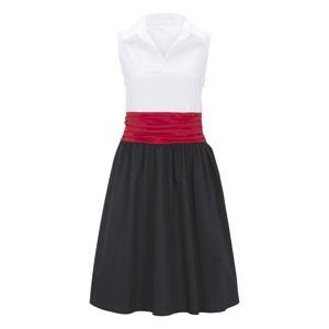 heine Šaty  červená / marine modrá / bílá