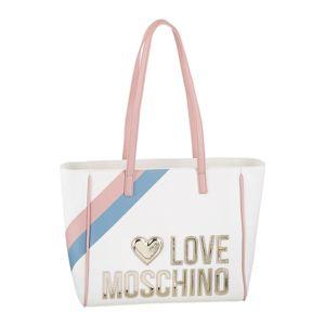 Love Moschino Nákupní taška  zlatá / bílá / růžová / světlemodrá