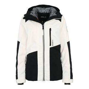 O'NEILL Outdoorová bunda 'CASCADE'  černá / bílá