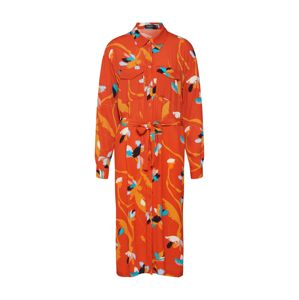 SOAKED IN LUXURY Košilové šaty 'Taika'  oranžová / okrová