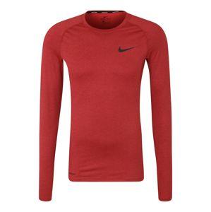 NIKE Funkční tričko 'M NP TOP LS TIGHT'  vínově červená