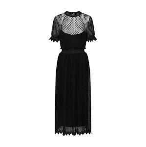 TFNC Šaty 'LIDIA DRESS'  černá