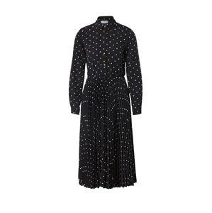 Closet London Košilové šaty 'Closet Pleated Shirt Dress'  černá
