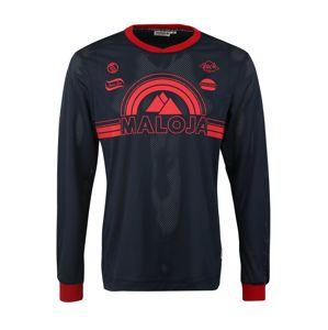 Maloja Funkční tričko 'StronM.'  tmavě modrá / červená