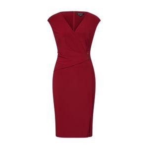 Lauren Ralph Lauren Pouzdrové šaty 'AIDEENA'  vínově červená