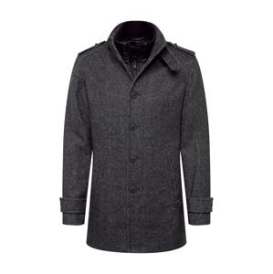 SELECTED HOMME Přechodný kabát  tmavě šedá