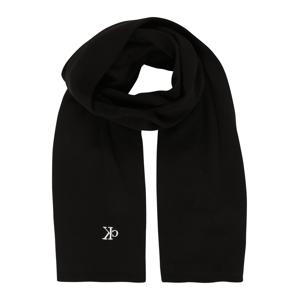 Calvin Klein Jeans Šála  černá / bílá