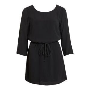 OBJECT Šaty 'OBJLOURDES 3/4 LACE DRESS REP'  černá