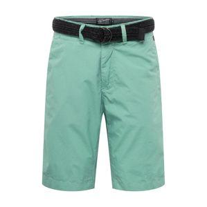 Petrol Industries Chino kalhoty  pastelově zelená