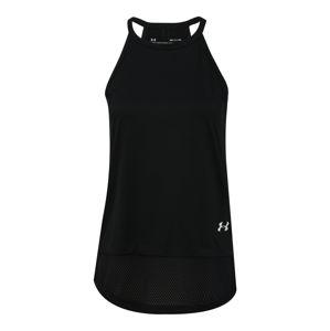 UNDER ARMOUR Sportovní top  bílá / černá