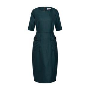 Closet London Pouzdrové šaty 'Closet Cargo Pockets Pencil Dress'  tmavě zelená